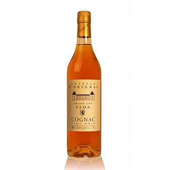 Chateau D'Orignac Cognac VSOP Grand Cru Single Estate 40% 70cl thumbnail