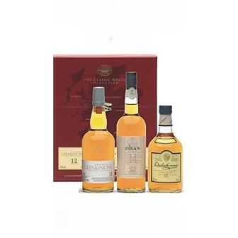 The Classic Malts Gift Pack Gentle 3x20cl thumbnail