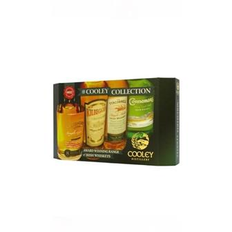 The Cooley Collection Irish Whiskey 40% 4x5cl thumbnail