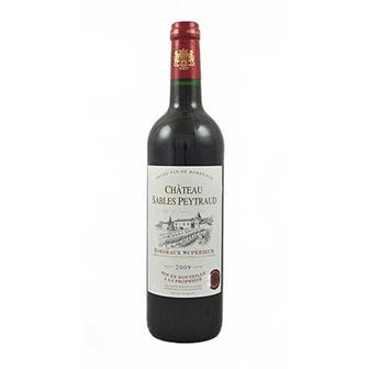 Chateau Sables Peytraud 2009 Bordeaux Superieur 75cl thumbnail
