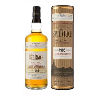 The Benriach 1995 18 years old Single Cask 52.5% 70cl thumbnail