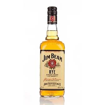 Jim Beam Rye Whiskey 40% 70cl thumbnail