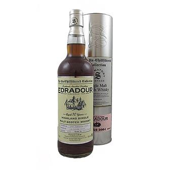 Edradour 2004 10 years old Un-chillfiltered Range 46% 70cl thumbnail