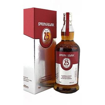 Springbank 25 years old 46% 70cl thumbnail