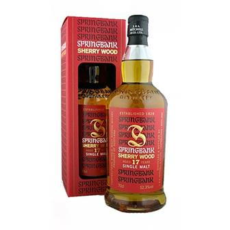 Springbank 17 years old Sherry wood 52.3% 70cl thumbnail