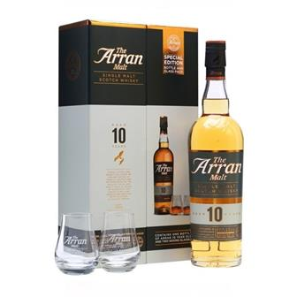 Arran 10 Year Old Gift Pack 46% 70cl thumbnail