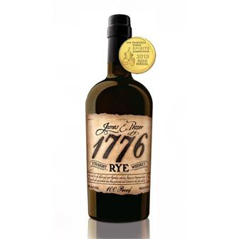 James E Pepper 1776 Straight Rye Whiskey 50% 70cl thumbnail