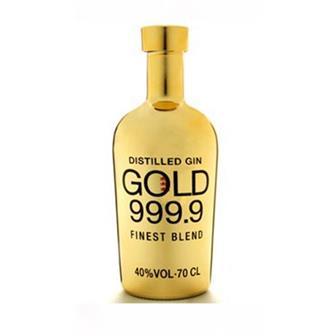 Gold 999.9 Finest Blend Gin 40% 70cl thumbnail