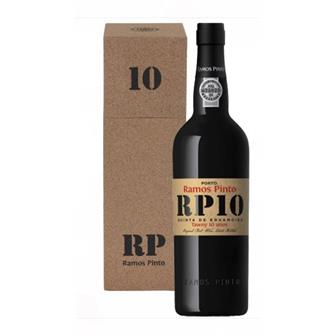 Ramos Pinto 10 years old 20% 70cl Cork Cooler Pack thumbnail