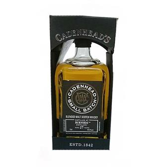 Burnside 27 years old Cadenheads Small Batch 70cl thumbnail