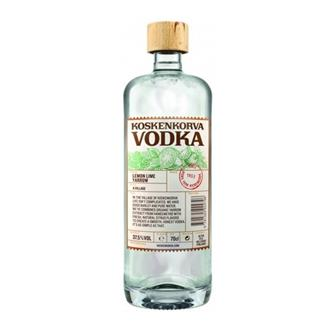 Koskenkorva Lemon Lime Yarrow Vodka 37.5% 70cl thumbnail