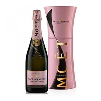 Moet & Chandon Rose Imperial Champagne Metal Gift Box 12% 75cl thumbnail