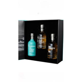 Bruichladdich Wee Laddie Gift Set 3x20cl thumbnail