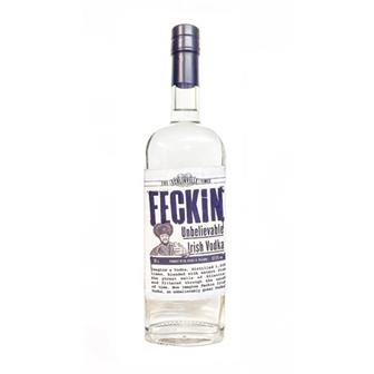 Feckin Unbelievable Irish Vodka 70cl thumbnail