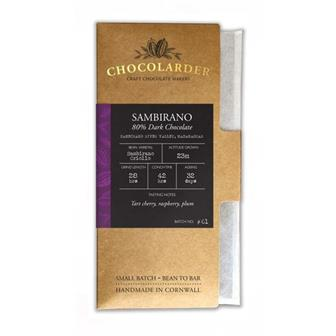 Chocolarder Sambirano 80% Dark Chocolate thumbnail