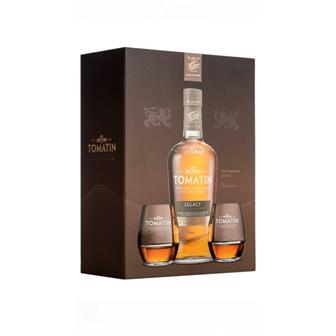 Tomatin Legacy Gift Pack 43% 70cl thumbnail