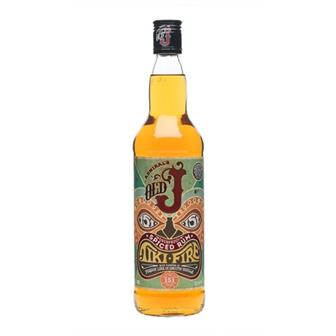 Admiral Vernon's Old J Tiki Fire 151 Batch No.21 75.5% 70cl thumbnail