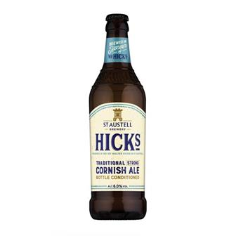 Hicks Traditional Strong Cornish Ale 500ml thumbnail