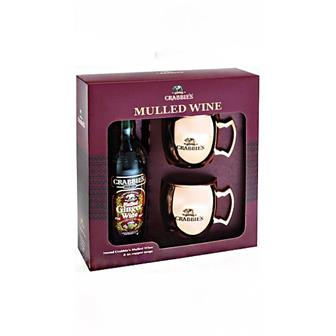 Crabbies Mulled Wine Copper Mug Gift Pack 12% 70cl thumbnail