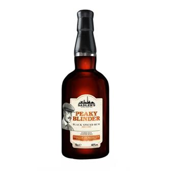 Peaky Blinder Black Spiced Rum 40% 70cl thumbnail