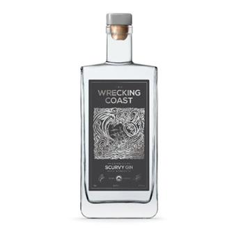 Wrecking Coast Scurvy Gin Navy Strength 70cl thumbnail