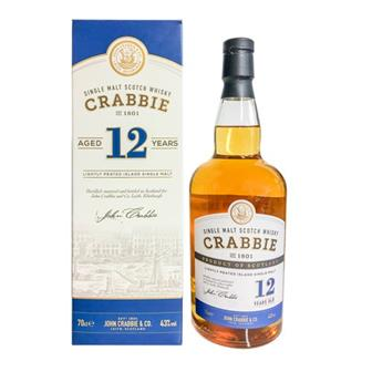 Crabbies 12 years old Lightly Peated  thumbnail