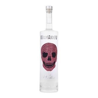 Iordanov Pink Skull Vodka 40% 70cl thumbnail