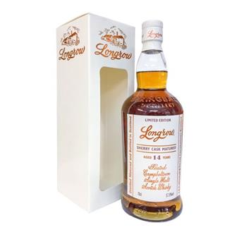 Longrow 14 years old Sherry Cask Matured thumbnail