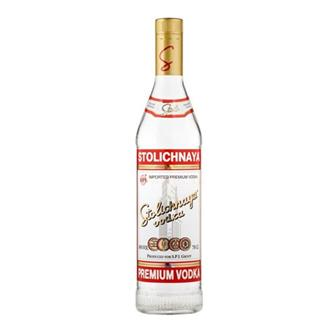 Stolichnaya Red Vodka 40% 70cl thumbnail