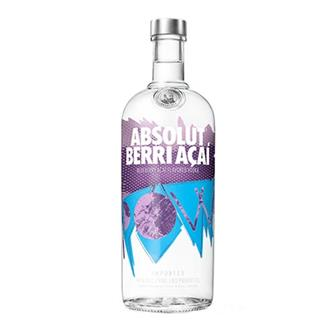 Absolut Berri Acai Vodka 40% 70cl thumbnail