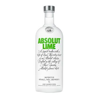 Absolut Lime Vodka 40% 70cl thumbnail