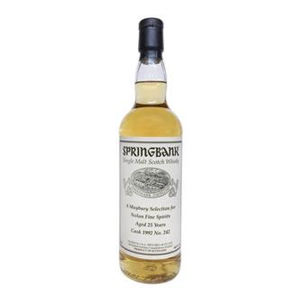 Springbank 25 Year Old 1992 Cask No 242  thumbnail