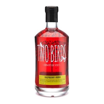 Two Birds Raspberry Vodka 26% 70cl thumbnail