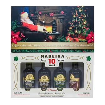 Madeira D'Oliveiras Miniature Gift Pack 10 Year Old thumbnail