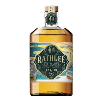 Rathlee 3 Year Old Golden Barrel Aged Ru thumbnail