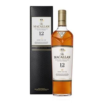 The Macallan 12 years old Sherry Cask 40% 70cl thumbnail