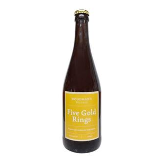 Woodmans Five Gold Rings Ale 6.5% 500ml thumbnail