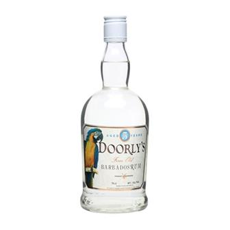 Doorly's 3 year old White Rum 40% 70cl thumbnail