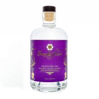 Thunderflower Devon Dry Gin 42% 70cl thumbnail