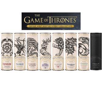 Game of Throne Set of Whiskies (8 bottles) thumbnail
