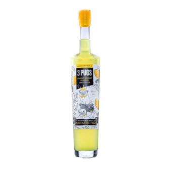 3 Pugs Lemony Sherbet Flavoured Gin Liqueur  thumbnail