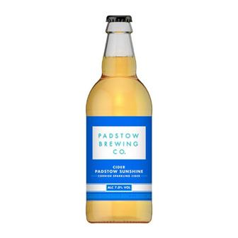Padstow Sunshine Cider 7% 568ml thumbnail