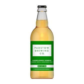 Padstow Elderflower Sunrise Cider 4% 500ml thumbnail
