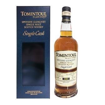Tomintoul Single Cask 2001 17 years old 57.4% 70cl thumbnail