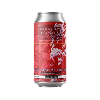 Padstow Scarlet Side of the Moon - Pomegranate Brut IPA 5.5% 440ml thumbnail