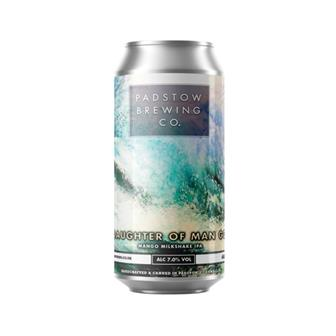 Padstow Daughter of Man Go - Mango Milkshake IPA 7% 440ml thumbnail