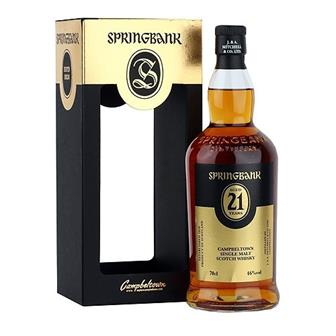 Springbank 21 years old 2017 release 70cl thumbnail