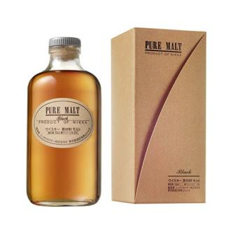 Nikka Pure Malt Black Label 43% vol 50cl thumbnail