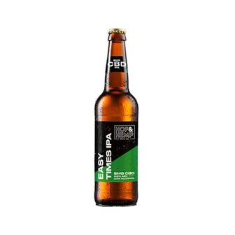 Hop & Hemp Easy Times IPA 0.5% 330ml thumbnail
