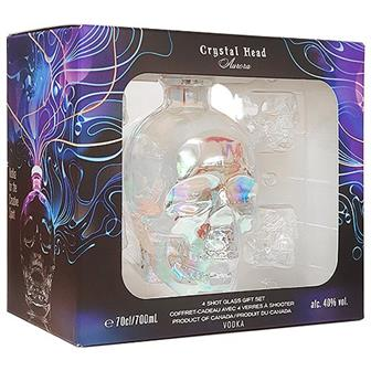Crystal Head Vodka Aurora Gift Pack 70cl thumbnail